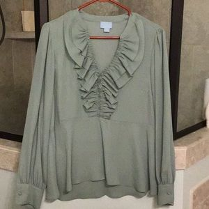 Cece ladies blouse size medium